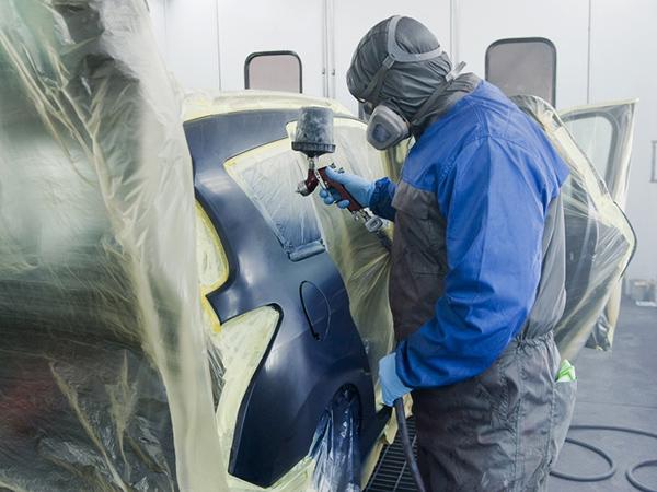 Peinture sur carrosserie